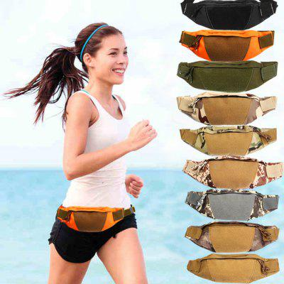Outdoor Sports Canvas Waist Bag Camping Cycling Hiking AccessoriesWaistpacks<br>Outdoor Sports Canvas Waist Bag Camping Cycling Hiking Accessories<br><br>Capacity: 1 - 10L<br>Color: ACU Camouflage,Army green,Black,Brown,Camouflage,CP,Desert Digital Camouflage,Digital Camouflage,Orange<br>Features: Ultra Light<br>For: Camping<br>Gender: Unisex<br>Material: Canvas<br>Package Contents: 1 x Waist Bag<br>Package size (L x W x H): 40.00 x 6.00 x 11.00 cm / 15.75 x 2.36 x 4.33 inches<br>Package weight: 0.1800 kg<br>Product size (L x W x H): 39.00 x 5.00 x 9.50 cm / 15.35 x 1.97 x 3.74 inches<br>Product weight: 0.1330 kg<br>Strap Length: 39cm<br>Style: Sport<br>Type: Waist Bag