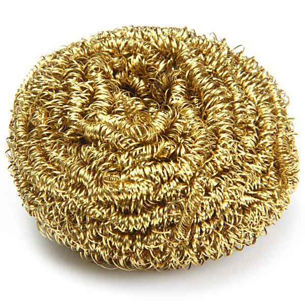 Copper Spiral Scourer Cleaning Ball for Machine Tool