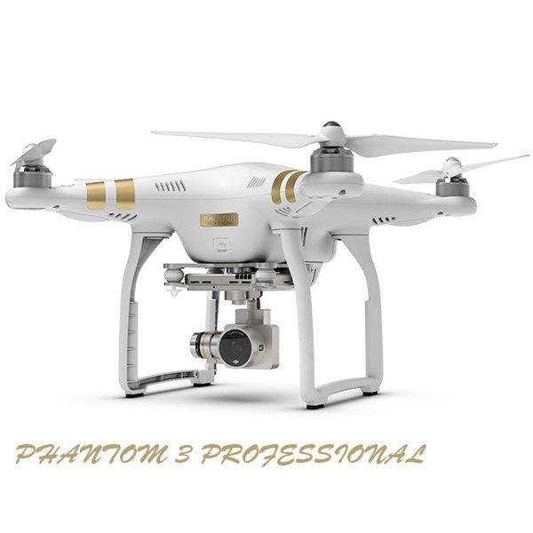 DJI Phantom 3 Professional GPS App FPV Remote Control Quadcopter with 4K HD Camera RTF UFO