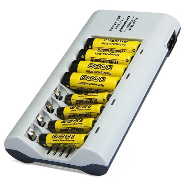 TangsPower T - 808C 8 Slots Battery Charger