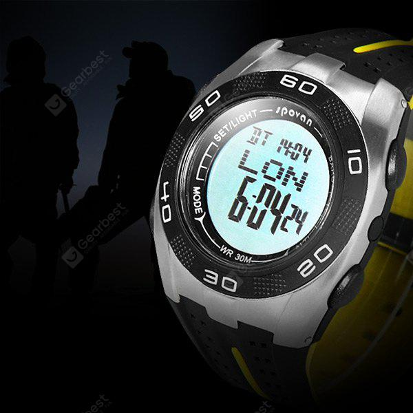 Spovan Blade V Outdoors Sports Led Blade Watch Water Resistance