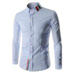 Buy LIGHT BLUE, Apparel, Men's Clothing, Men's Shirts for $12.74 in GearBest store