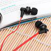 best Awei ES  -  710i 1.2m Flat Cable Design In - ear Earphone with Mic for Smartphone Tablet PC