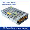 AC 110V / 220V to DC 24V 250W 10.5A Switching Power Supply for LED Tape Light - WHITE GOLDEN