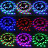 5 Meters 24W 300 SMD 3528 LEDs RF Wireless Control RGB Ribbon Light IP65 Water Resistance DIY Strip Lamp Kit  -  12V 5A - RGB COLOR