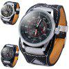 cheap Naviforce Men Japan Quartz Watch Date Display Water Resistant Wide Strap Wristwatch