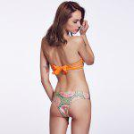 THE FILLE 223800309800 new fashion popular sexy double-sided wearing two color  bikini set - COLORMIX