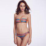 THE FILLE 223Y06309Y06 new fashion popular sexy double-sided wearing two color  bikini set - COLORMIX
