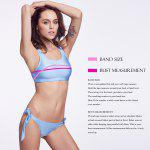 THE FILLE 223Y03309Y03 new fashion popular sexy double-sided wearing two color  bikini set - ROSA