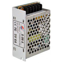 S - 30 - 5 30W 5V / 6A Switch Power Supply Driver for LED Light and Surveillance Security Camera ( 110 - 220V )