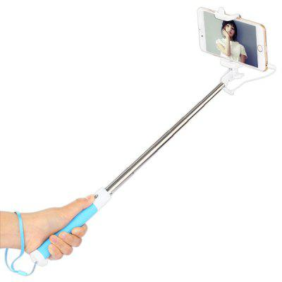 R1 3.5mm Jack Cable Connect Stretch Selfie Monopod Stick
