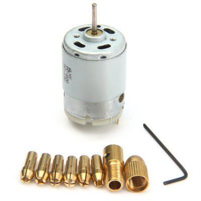 WLXY DIY Practical Simple Mini Electric Drill DC 12V 2 with Six Chuck Accessories 0.5 mm  -  3.0 mm