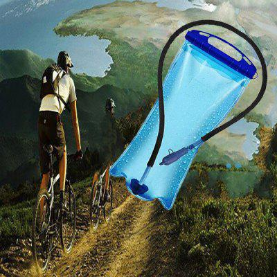 Portable Folding Water Bottle Outdoor Plastic Water Bag with 2L Capacity