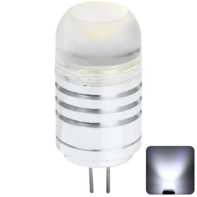 G4 4W 380Lm 6500K AC 12V LED COB Car Bulb Cabinet Dome Light ( White Light )