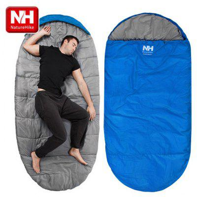 Naturehike Ultra - light Portable Single Cotton Large Sleeping Bag Thickening Outdoor Camping Travel Sleeping Pad
