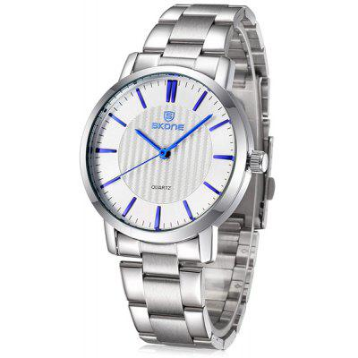 Skone 5050 Male Business Quartz Watch with Alloy Body