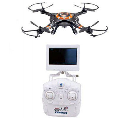 2.4GHz CX  -  32 / CX  -  32C / CX  -  32W / CX  -  32S 4 Channel 6 Axis Gyro RC Quadcopter 3D Stunt UFO with LED Light Brush Motor