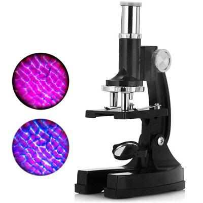 TF  -  S450 Trinocular Biological Microscope with 100X 200X 450X Zoom