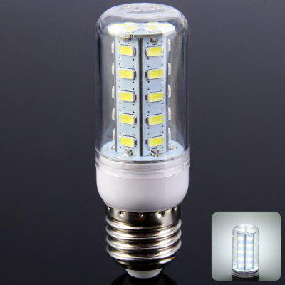 E27 5W 36 SMD 5730 LEDs 500Lm Pure White LED Corn Light 220  -  240V