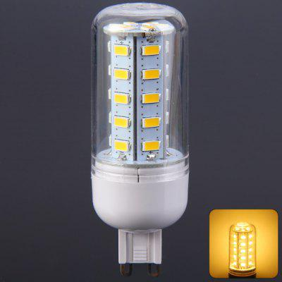 500LM G9 5W SMD 5730 36 LED Lights Clear Corn Bulb ( 3000  -  3500K 220  -  240V )