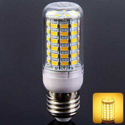 1100LM E27 12W SMD 5730 69 LED Lights Transparent Corn Bulb ( 3000  -  3500K 220  -  240V )