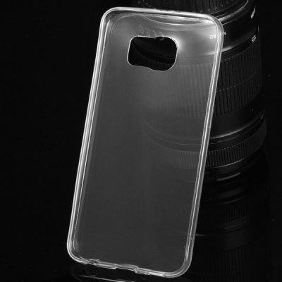 TPU Material Ultrathin Transparent Phone Back Cover Case for Samsung Galaxy S6 G9200