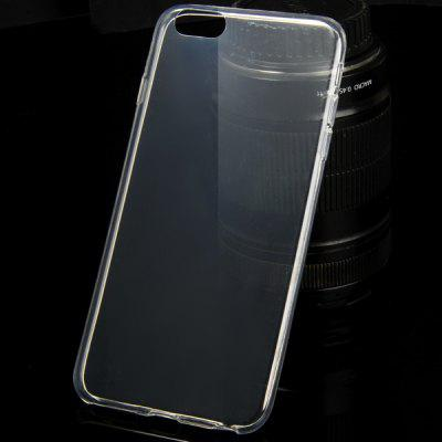 TPU Material Ultrathin Transparent Phone Back Cover Case for iPhone 6 Plus  -  5.5 inch