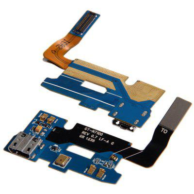 Dock Connector Charging USB Port Replacement Flex Cable for Samsung Galaxy Note 2 N7100