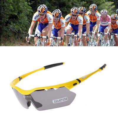 ROCKBROS Updated Versio Unisex Resilience Outdoor Sports Polarized Bicycle Sun Glasses