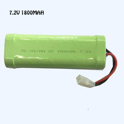 7.2V 1800mAh Battery for SHUANG MA 7000 RC Boat Model