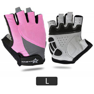 ROCKBROS Unisex Breathable Half Finger Cycling Gloves