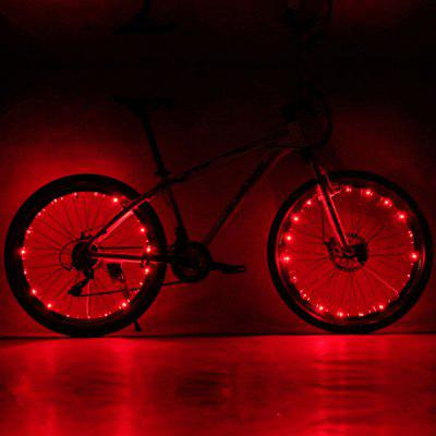 CoolChange Mountain Bike / Bicycle Spokes LED Decorative Light Night Riding
