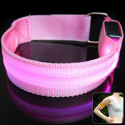 LED Armband Safety Reflective Flashing Light for Night Cycling Walking Running