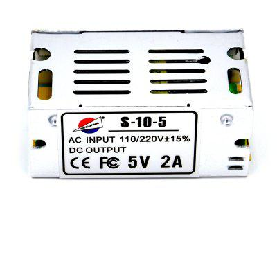 S - 10 - 5 10W 5V / 2A Switch Power Supply Driver for LED Light and Surveillance Security Camera ( 110  -  220V )