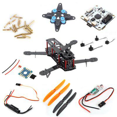 2 Pairs 5030 RC Airplane 2 - Blade H250 Glassy Carbon Mini Multicopter DIY Accessories
