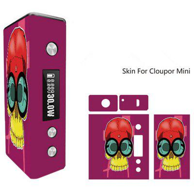 Skull Pattern Skin for Cloupor Mini Full Body Vinyl Sticker