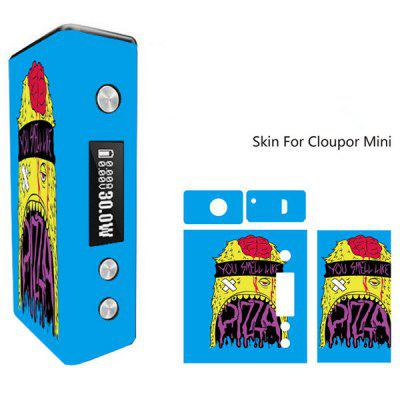 Monster Pattern Skin for Cloupor Mini Full Body Vinyl Sticker