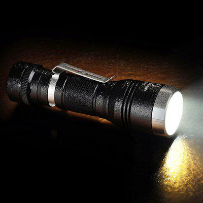 Sunwayman G25C Cree XM L2 U2 1000Lm 4 Modes Side Switch LED Flashlight 18650 CR123A