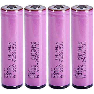 4 PCs  ICR18650  -  26FM 3.7V 18650 2600mAh Protected Rechargeable Li - ion Battery