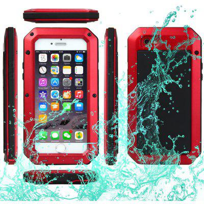 Waterproof Shockproof Dustproof Gorilla Glass Aluminum Metal Case for iPhone 6 6S