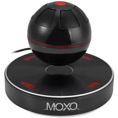 Newest MOXO X  -  1 Mini Bluetooth 4.1 Speaker Wireless Maglev 3D Music Player with NFC FunctionSpeakers<br>Newest MOXO X  -  1 Mini Bluetooth 4.1 Speaker Wireless Maglev 3D Music Player with NFC Function<br><br>Audio Source: Bluetooth Enabled Devices<br>Bluetooth version: Bluetooth 4.1<br>Brand: MOXO<br>Color: Multi-color<br>Compatible with: MP3, Mobile phone, Tablet PC, iPhone, Laptop<br>Connection: Wireless<br>Design: Mini, Stylish, Portable, Cool<br>Distortion: THD&lt;0.5 %<br>Freq: 40HZ-20KHZ<br>Interface: Micro USB<br>Model: X-1<br>Package Contents: 1 x Speaker, 1 x Bag, 1 x Adpater<br>Package size (L x W x H): 22.00 x 20.00 x 21.00 cm / 8.66 x 7.87 x 8.27 inches<br>Package weight: 1.800 kg<br>Product size (L x W x H): 15.00 x 11.00 x 15.00 cm / 5.91 x 4.33 x 5.91 inches<br>Product weight: 0.928 kg<br>S/N: 85dB<br>Supports: Bluetooth, NFC<br>Transmission Distance: W/O obstacles 10m