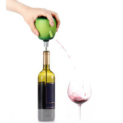 TOKUYI TO - EPD Wine Cider Electric Decanter Pump for Home Bar Party Travel  -  Apple Design
