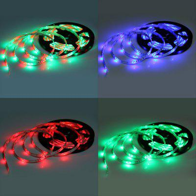 IP65 Wodoodporny DC 12V 5m 24W SMD3528 300 LEDs RGB LED Light Strip