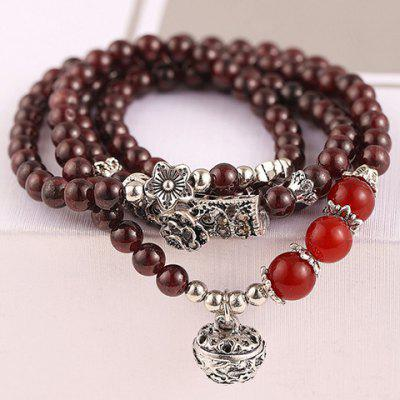 Classic Beads Layered Bracelet For Women