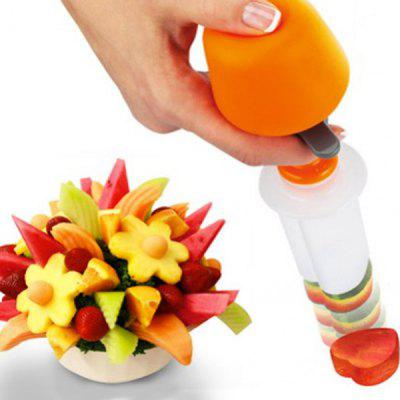 Pop Chef Fruit Food Decorator Kit Mounting Patterns Manual Operation