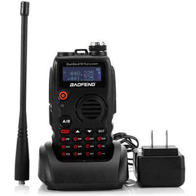 Baofeng A  -  52 VHF / UHF Dual Band Programmable Walkie Talkie Two - way Radio FM Transceiver Handheld Interphone with Flashlight