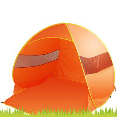 2  -  3 Persons Camping / Fishing / Beach Tent Ultraviolet - proof Portable Lightweight Shelter