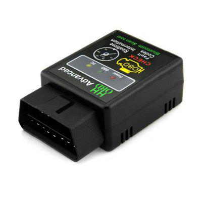 Mini ELM327 Bluetooth V2.1 OBD Car Wireless Adapter Scanner Tool Support SAE J1850 CAN CableOBD &amp; Diagnostic Tools<br>Mini ELM327 Bluetooth V2.1 OBD Car Wireless Adapter Scanner Tool Support SAE J1850 CAN Cable<br><br>Adaptable automobile mode: Universal<br>Apply To Car Brand: Acura,Aston Martin,Audi,Bentley,BMW,Bugatti,Buick,Cadillac,Chevrolet,Chrysler,Citroen,Daewoo,Dodge,Ferrari,Ford,GMC GMC,Honda,Hummer,Hyundai,Infiniti,Jaguar,Jeep,Kia,Lamborghini,Land Rover,Lexus,Linco<br>Baud Rate: 13500bps<br>Color: Black<br>Data measurements: ABS capability,air intake temp,barometric pressure,battery voltage,calculated engine load,display live O2 sensor test data,engine coolant temp,engine rotational speed,engine temperature,EVAP system va<br>Language: Arabic,English,French,German,Indonesian,Italian,Japanese,Korean,Polish,Portugal,Russian,Simplified Chinese,Spanish,Thai,Turkish<br>Material: ABS<br>Output Protocol: Bluetooth<br>Package Contents: 1 x WiFi OBD-II Car Diagnostics Tool, 1 x CD Software<br>Package size (L x W x H): 16.00 x 10.00 x 5.00 cm / 6.3 x 3.94 x 1.97 inches<br>Package weight: 0.120 kg<br>Power: 12V<br>Product size (L x W x H): 7.00 x 4.50 x 2.50 cm / 2.76 x 1.77 x 0.98 inches<br>Product weight: 0.050 kg<br>Special function: Bluetooth<br>Supports OBD2 protocols: J1850 VPW, J1850 PWM, ISO15765-4 (CAN), ISO14230-4 (KWP2000), ISO9141-2