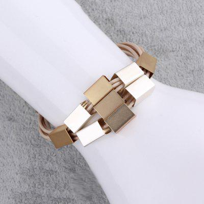 Trendy Alloy Chain Layered Bracelet For Women