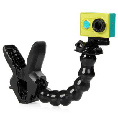 Multifunction Flexible Universal Bracket Clamp Serpentine Arm Clip Kit for Xiaomi Yi Action Camera / Gopro Series / SJCAMAction Cameras &amp; Sport DV Accessories<br>Multifunction Flexible Universal Bracket Clamp Serpentine Arm Clip Kit for Xiaomi Yi Action Camera / Gopro Series / SJCAM<br><br>Accessory type: Bracket<br>Apply to Brand: Xiaomi,Gopro,SJCAM<br>Compatible with: Dazzne P2, Dazzne P3, SJ7000, SJCAM 5000 plus, SJCAM 4000 plus, Discovery DS100, Discovery DS200, Soocoo C10, Soocoo S60, Gitup Git2, A9, GoPro Hero 4 Session, GitUp Git1, AMK 5000S, Gopro Hero 4, Gopro Hero 3 Plus, Gopro Hero 3, Gopro Hero 2, Gopro Hero 1, GoPro Hero Series, SJ4000, SJ5000, SJ6000, Action Camera, Isaw, AMK 5000<br>For Activity: Bike, Hunting and Fishing, Motocycle<br>Material: Plastic<br>Package Contents: 1 x Clamp, 1 x Serpentine Arm Clip, 1 x Moveable Base, 1 x Long Screw, 1 x Mount Adaptor<br>Package size (L x W x H): 23.5 x 19 x 9 cm / 9.24 x 7.47 x 3.54 inches<br>Package weight: 0.291 kg<br>Product weight: 0.239 kg